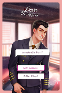 screenshot of Love & Diaries: Patrick – Interactive Romance version 3.6.7