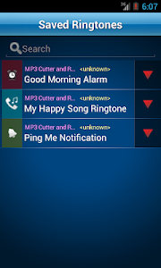 screenshot of MP3 Cutter and Ringtone Maker♫ version 2.1