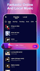 screenshot of MV Master - Video Status Maker version 2.5.1