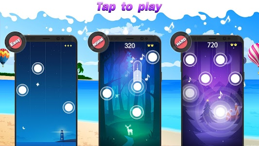 screenshot of Magic Piano Tiles 2018 - Music Game version 1.17.0