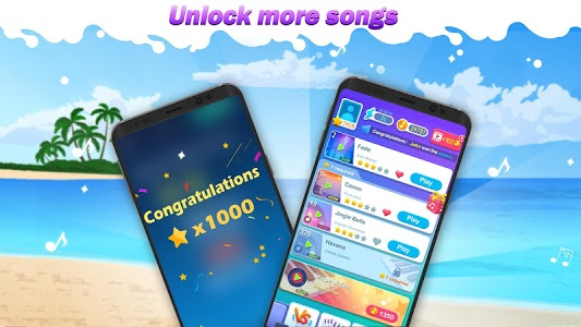 screenshot of Magic Piano Tiles 2018 version 1.10.0