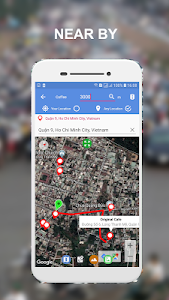screenshot of Maps Route Finder version 1.2.8