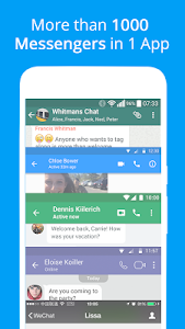 screenshot of Messenger for Messages, Text and Video Chat version 2.23