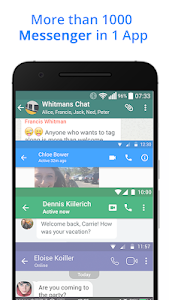 screenshot of Messenger for Messages, Text and Video Chat version 2.55