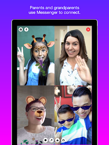screenshot of Messenger Kids – Safer Messaging and Video Chat version 72.0.0.15.113