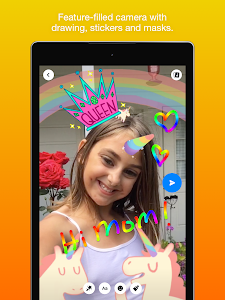 screenshot of Messenger Kids – Safer Messaging and Video Chat version 42.0.0.28.85