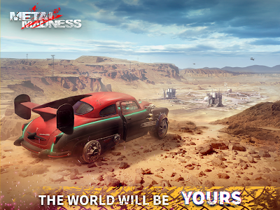 screenshot of METAL MADNESS PvP: Car Shooter version 0.34.1