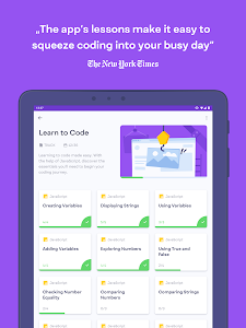 screenshot of Mimo: Learn to Code version 2.0