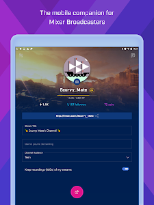 screenshot of Mixer Create version 1807.1130.0019