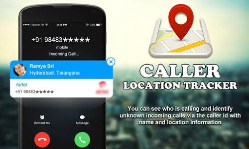 screenshot of Mobile Caller ID Location Tracker version 2.9