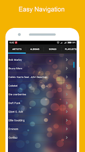 screenshot of Mp3 Music Player version 2.0