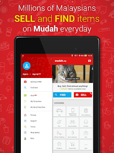screenshot of Mudah.my (Official App) version Varies with device