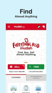 screenshot of Mudah.my - Buy and Sell Locally version Varies with device