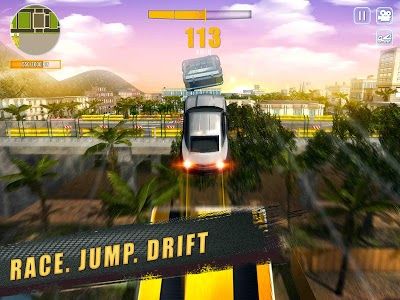 screenshot of Muscle Car Driving: Extreme Stunts Simulator version 1.01