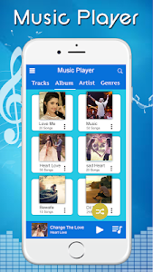 screenshot of Music Player - Audio Player version 1.2