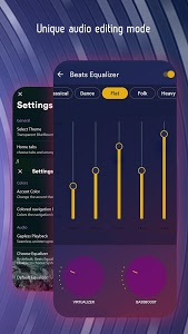 screenshot of Music Player - Super Equalizer & Bass Booster version 1.0.3