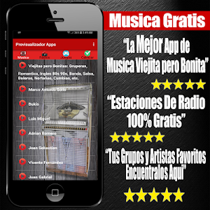 screenshot of Musica Viejitas Pero Bonitas version 1.12