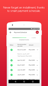 screenshot of My Home Credit Philippines version 7.3