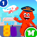 Download My Monster Town - Airport Games for Kids 1.5 APK