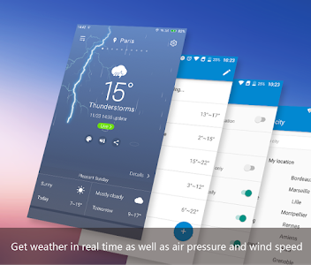 screenshot of APE Weather ( Live Forecast) version 7.1.34.29