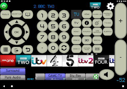 screenshot of MyAV Remote for Sony STR Receiver (7 Day Trial) version Cow V3.40