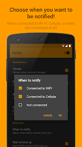 screenshot of Netify - Network Notifications version 1.5.2