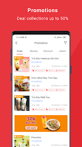 screenshot of Now.vn - Food Delivery version 3.5.6