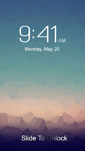 screenshot of OS9 Lock Screen version 3.1.2