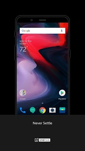 screenshot of OnePlus Launcher version Varies with device