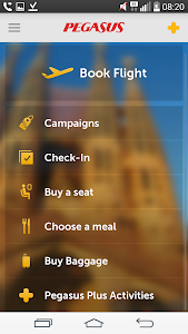 screenshot of Pegasus Airlines - Cheap Fares version Varies with device