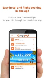 screenshot of Pegipegi.com - Hotel & Flight version 1.5.2