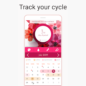 screenshot of My Calendar - Period Tracker version 6.1.1