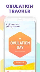 screenshot of Period Tracker, Ovulation Calendar & Fertility app version 1.47.49