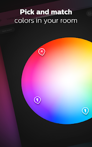 screenshot of Philips Hue version 3.6.1