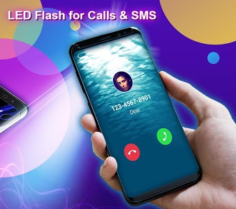 screenshot of Phone Color Screen - Colorful Call Flash Themes version 1.9.1