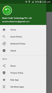 screenshot of Photo Recovery version 1.0.2
