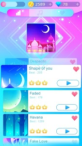 screenshot of Piano Music Go 2019: EDM Piano Games version 1.96