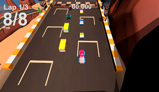 screenshot of Pickle Rush - Car Racing Game version 1.1