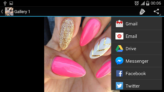 screenshot of Pointy Nails version 1.4