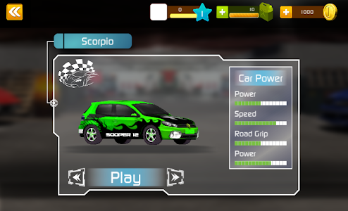 screenshot of Muscle Racers 3D version 1.2