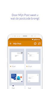 screenshot of PostNL version 5.15.0