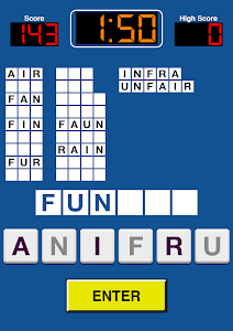 screenshot of Pressed For Words version Varies with device