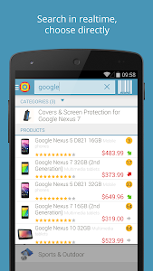 screenshot of PriceSpy compare prices & shop version 2.27.0
