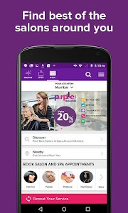 screenshot of Purplle-Online Beauty Shopping version 1.6.7