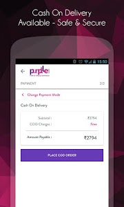 screenshot of Purplle-Online Beauty Shopping App version 1.7.11