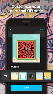 screenshot of QR Scanner: QR Code Reader & Barcode Scanner version 4.0