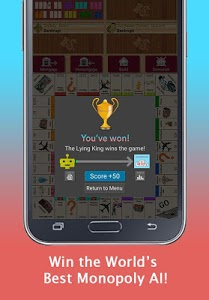 screenshot of Quadropoly - Best AI Property Trading Board Game version Varies with device