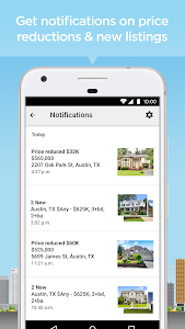 screenshot of Realtor.com Real Estate: Homes for Sale and Rent version 9.1
