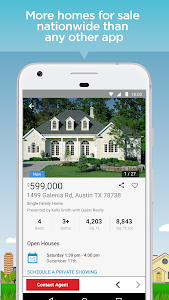 screenshot of Realtor.com Real Estate: Homes for Sale and Rent version 9.0.6