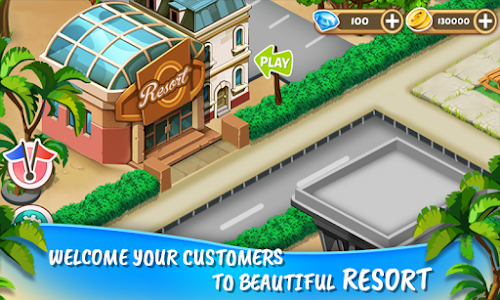 screenshot of Resort Island Tycoon version 1.24
